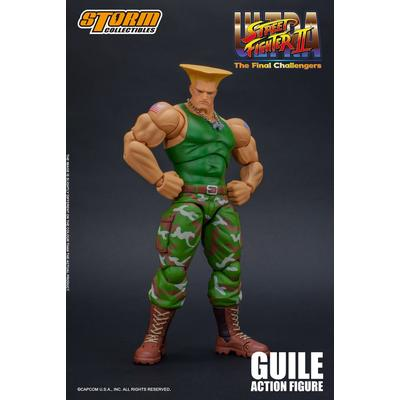 Street Fighter Guile Figure