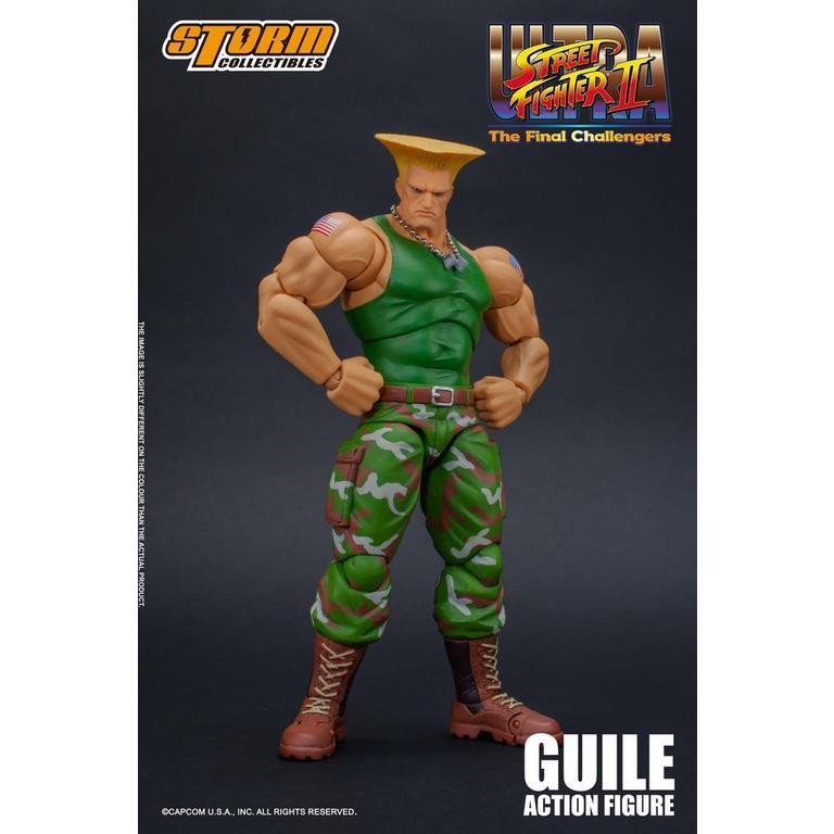 Street Fighter Guile Figure