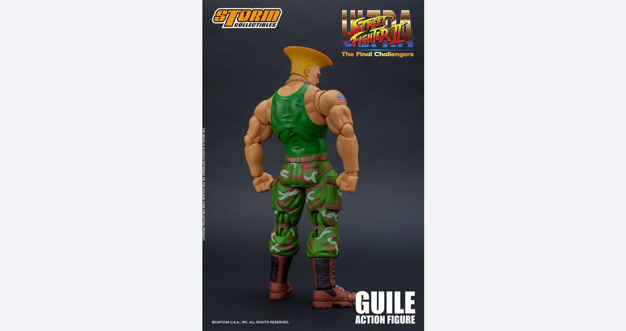 Ultra Street Fighter II: The Final Challengers Guile Action Figure