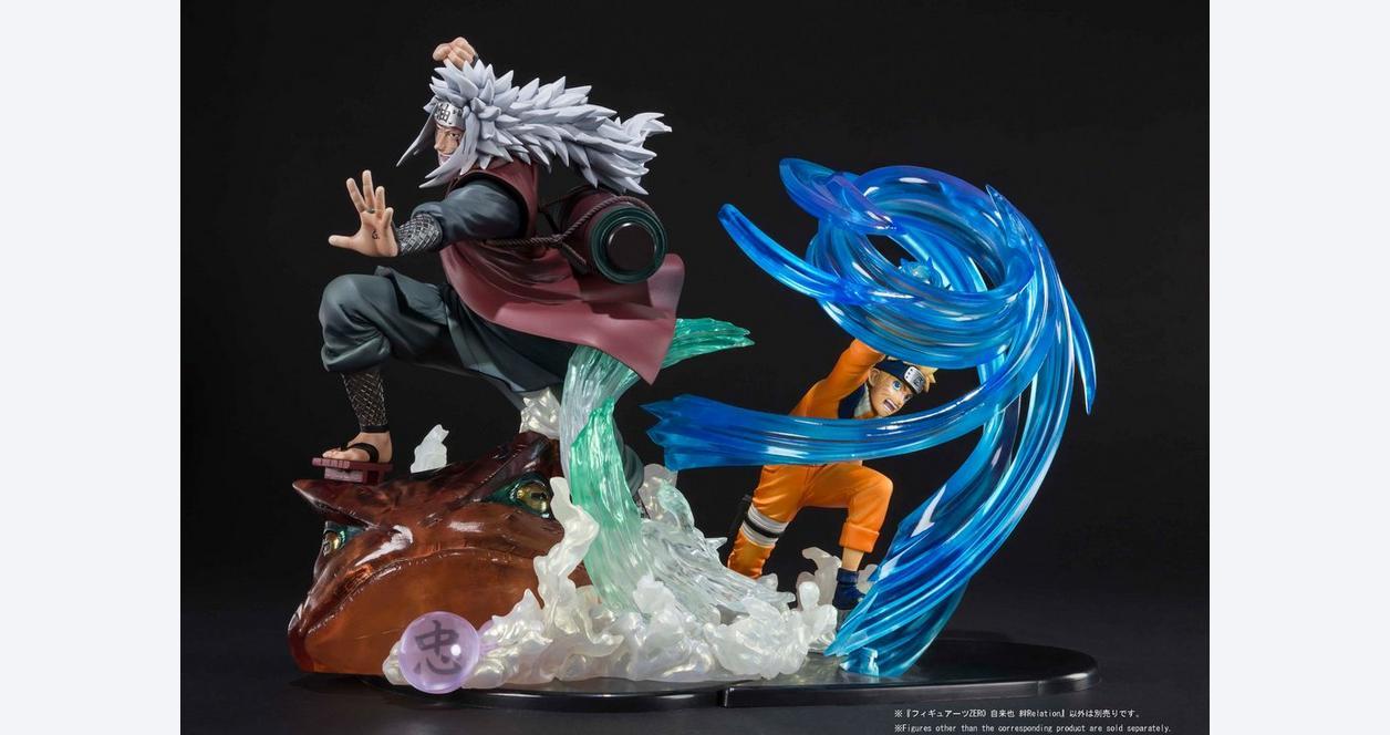 Naruto Shippuden FiguartsZERO Jiraiya Kizuna Relation Figure
