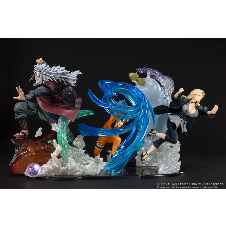 Naruto Shippuden FiguartsZERO Naruto Uzumaki Rasengan Kizuna Relation Figure
