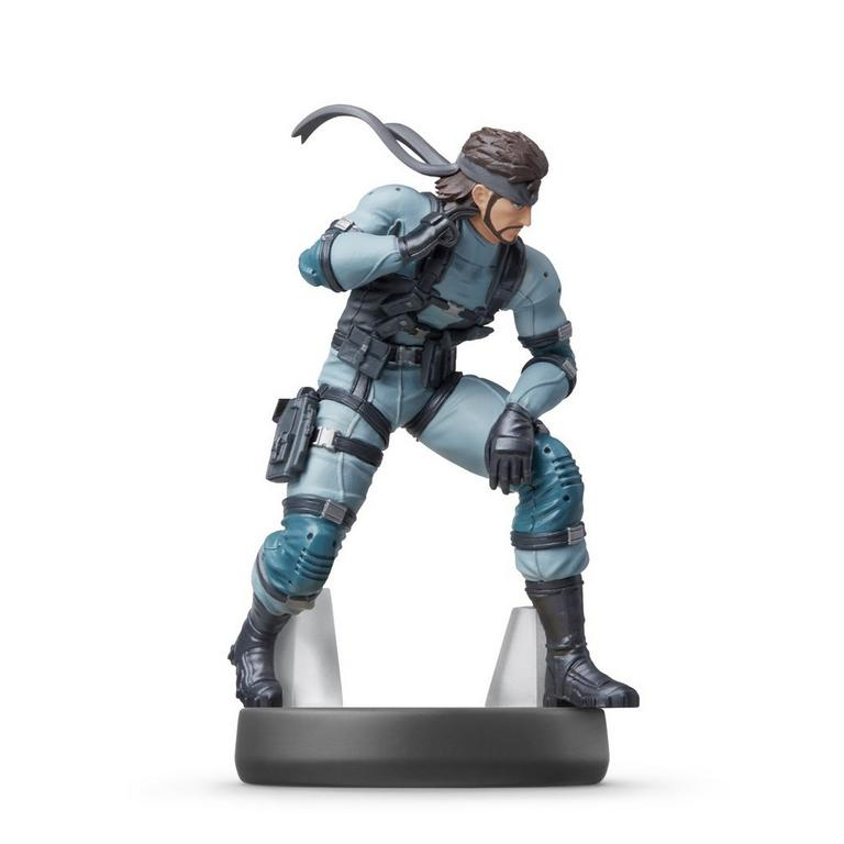 Super Smash Bros. Snake amiibo Figure