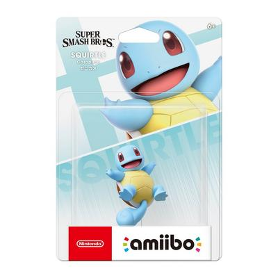 Super Smash Bros. Squirtle amiibo Figure