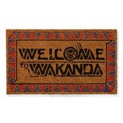 Black Panther Welcome to Wakanda Doormat