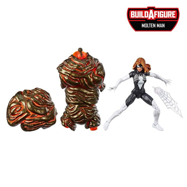 Marvel Legends Series Spider-Man: White Spider-Woman Action Figure