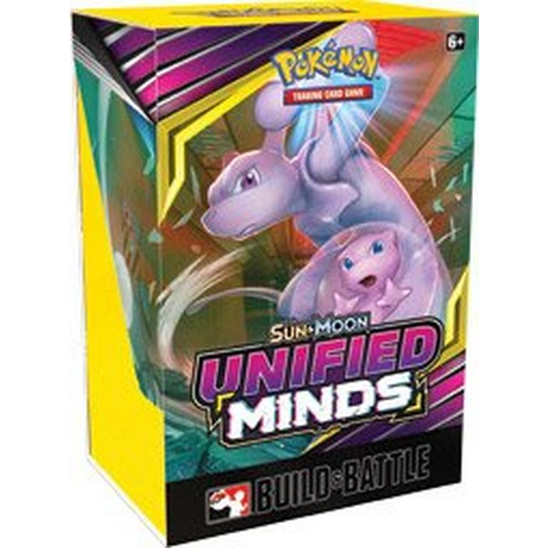 Pokemon Trading Card Game Sun and Moon Unified Minds Build Battle Box