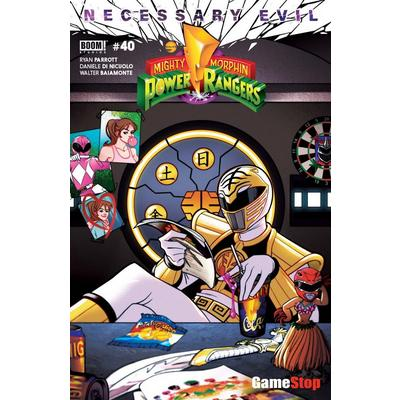 Mighty Morphin Power Rangers: Necesarry Evil #40 Comic Summer Convention Only at GameStop
