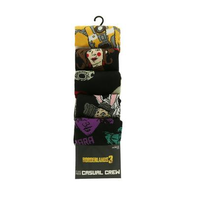 Borderlands Socks 5 Pack