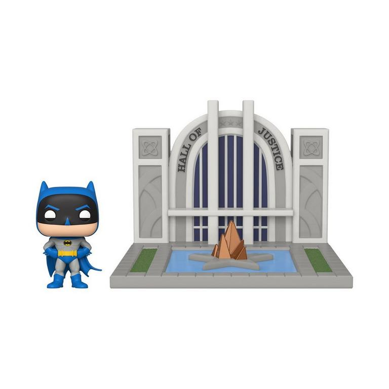 POP! Town: Batman 80th Anniversary Batman with the Hall of Justice