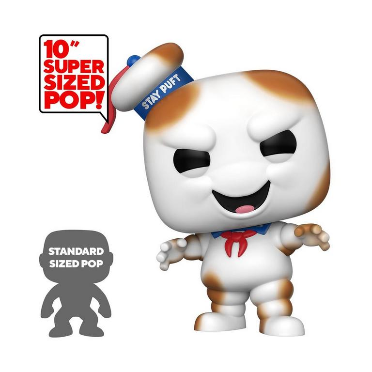 POP! Movies: Ghostbusters Burnt Stay Puft Man 10 inch Only at GameStop