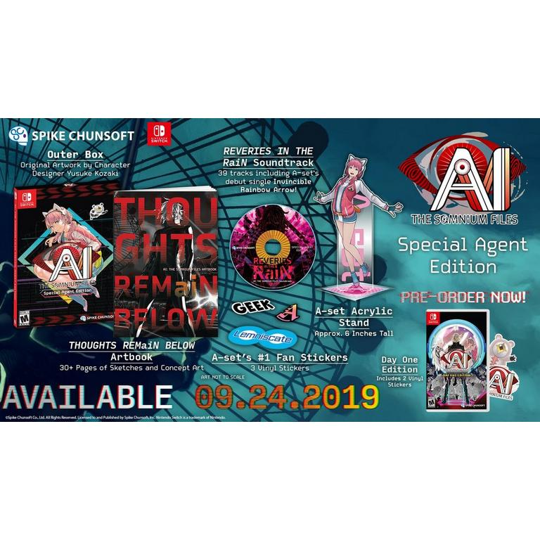 AI: The Somnium Files Limited Edition