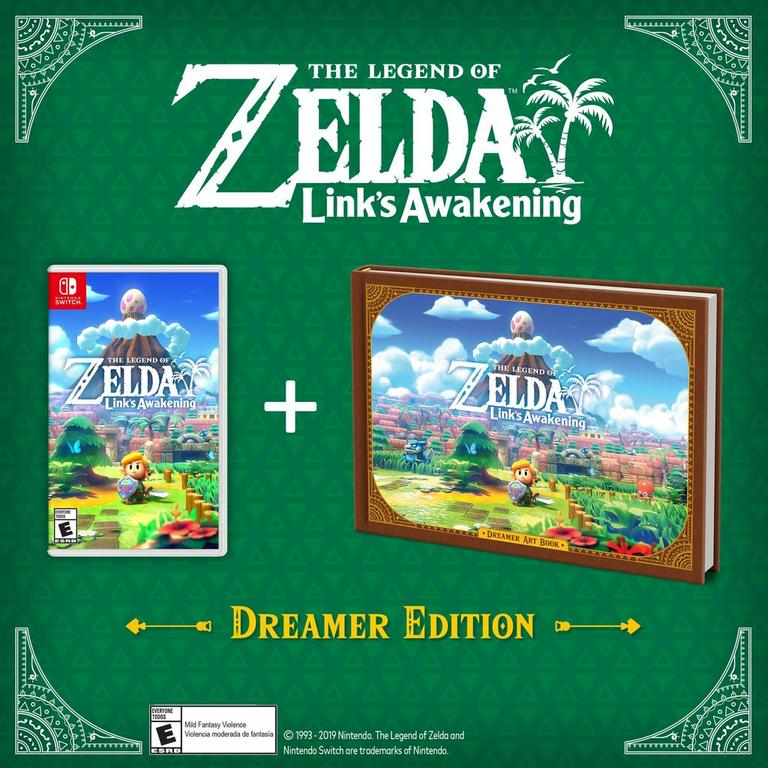The Legend of Zelda: Link's Awakening Dreamer Edition