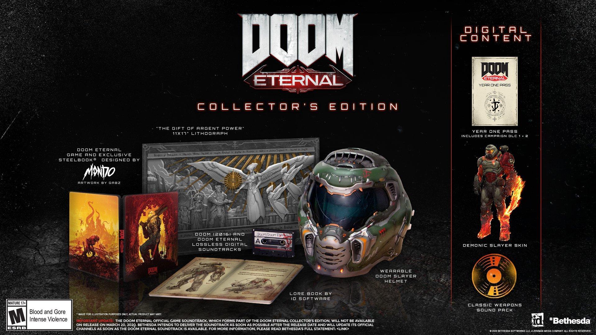 Doom Eternal Collector S Edition Playstation 4 Gamestop