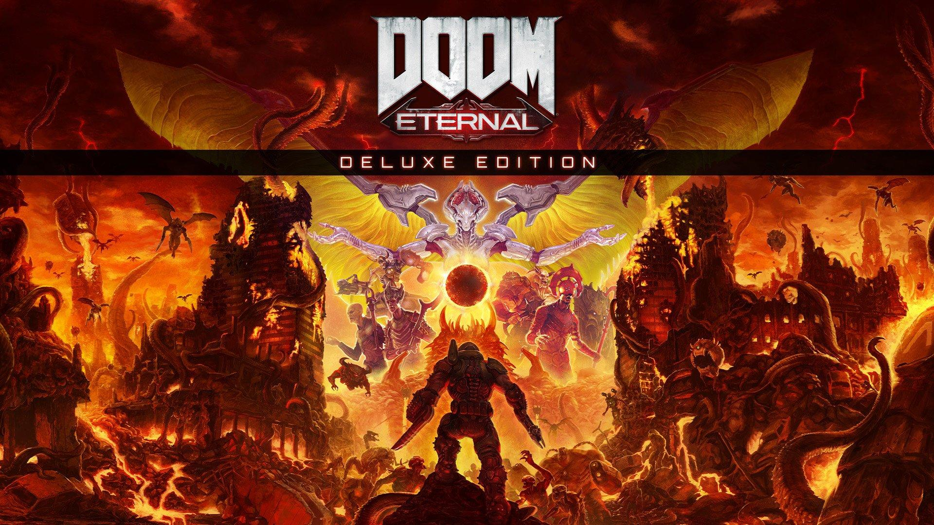 Doom Eternal Deluxe Edition Nintendo Switch Gamestop
