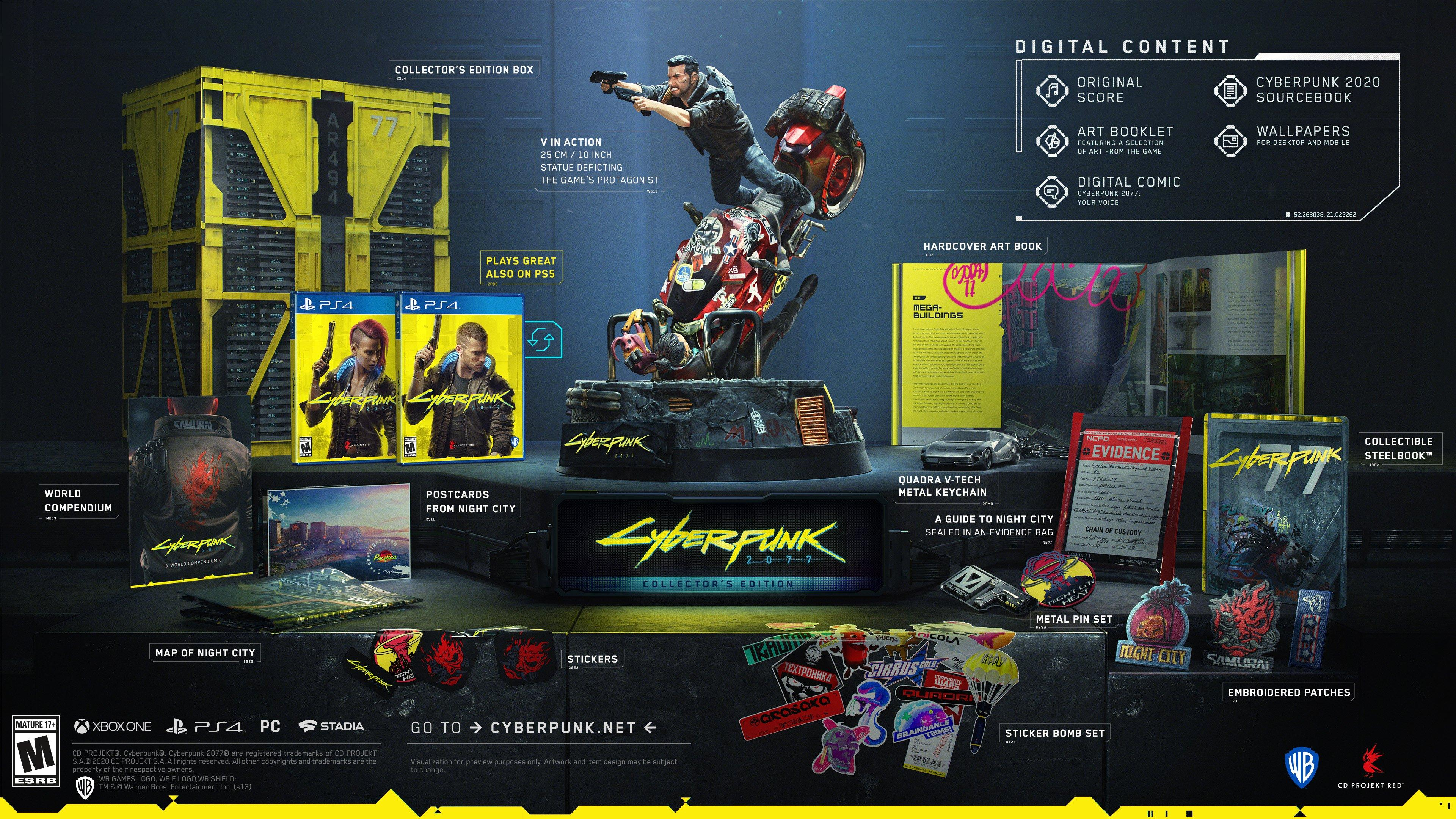 Image result for cyberpunk collectors edition