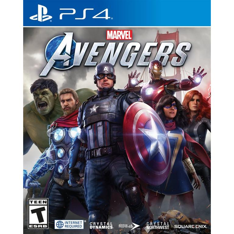 Square Enix Marvel's Avengers PS4 Pre-Order At GameStop Now!