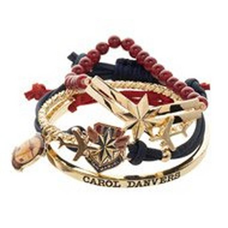 Captain Marvel Bracelets