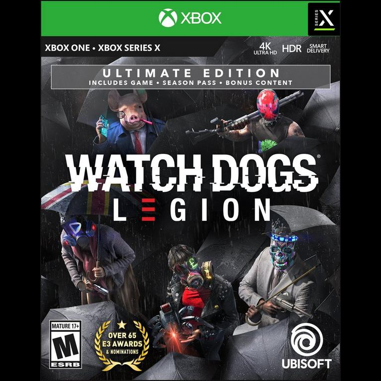 Watch Dogs Legion Ultimate Edition Xbox One Gamestop