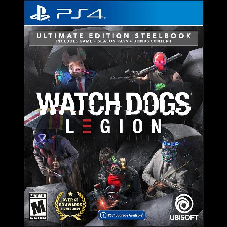 Watch Dogs Legion Ultimate Steelbook Edition Only At Gamestop Playstation 4 Gamestop