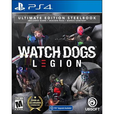 Watch Dogs: Legion Ultimate Steelbook Edition