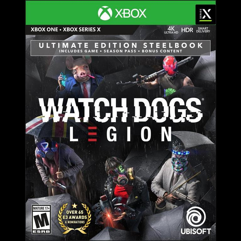 Watch Dogs Legion Ultimate Steelbook Edition Only At Gamestop Xbox One Gamestop
