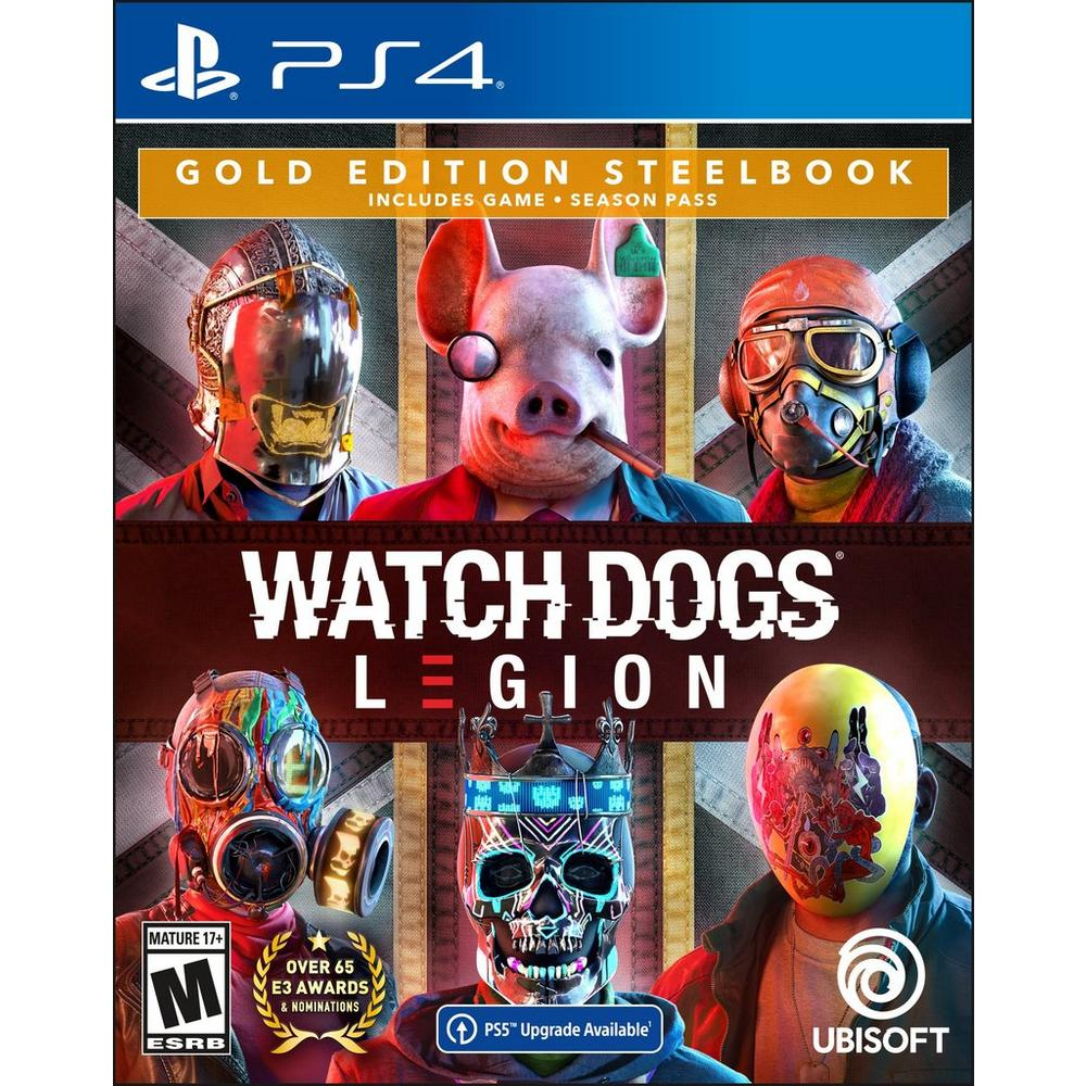 Watch Dogs: Legion Gold Steelbook Edition | PlayStation 4 | GameStop