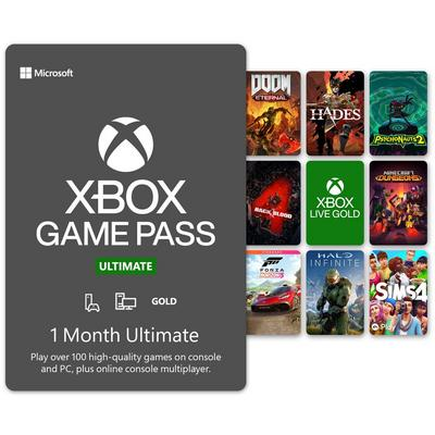 Xbox 1 Month Ultimate Game Pass Digital Card