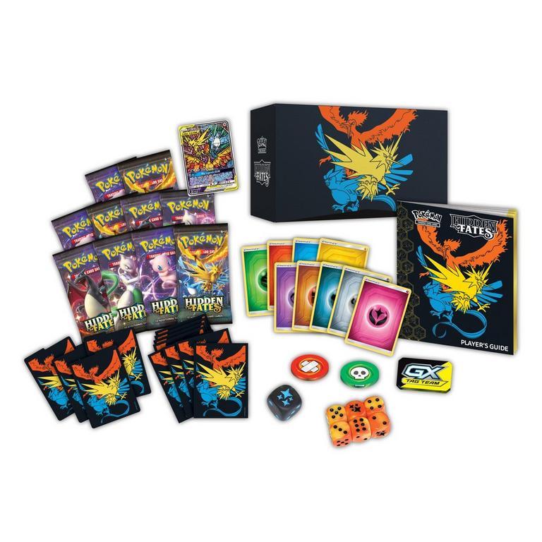 Pokemon Trading Card Game: Hidden Fates Elite Trainer Box