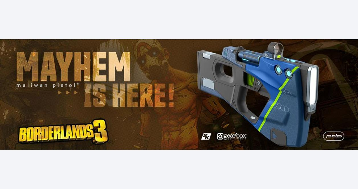 Borderlands 3 Maliwan Pistol
