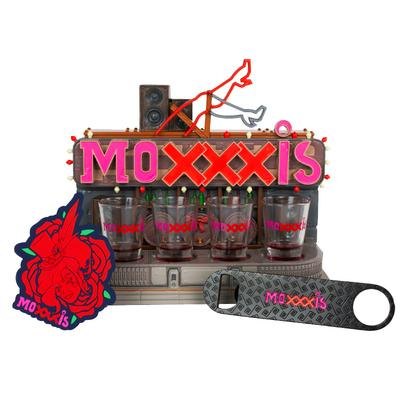Borderlands 3 Mad Moxxi Bar Set