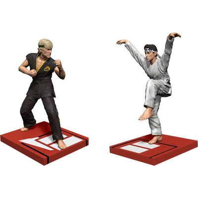 The Karate Kid Tournament Daniel Son vs Johnny Statue Set Only at GameStop