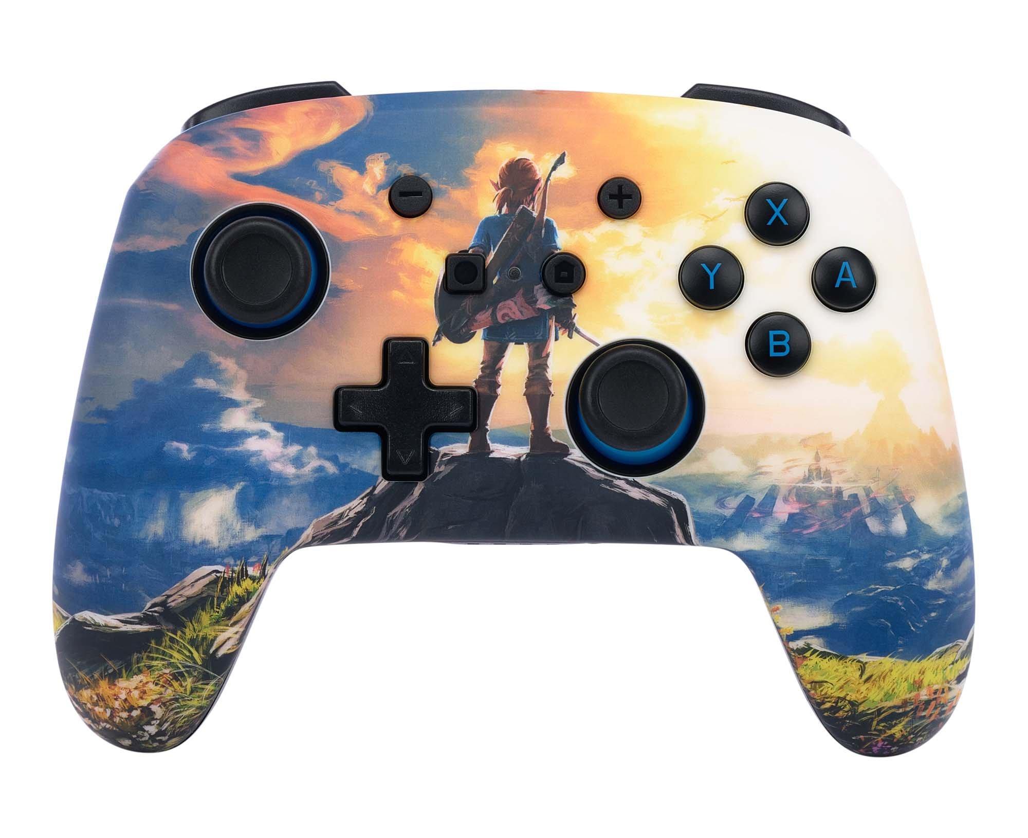 Nintendo Switch Super Mario Bros Mario Enhanced Wired Controller