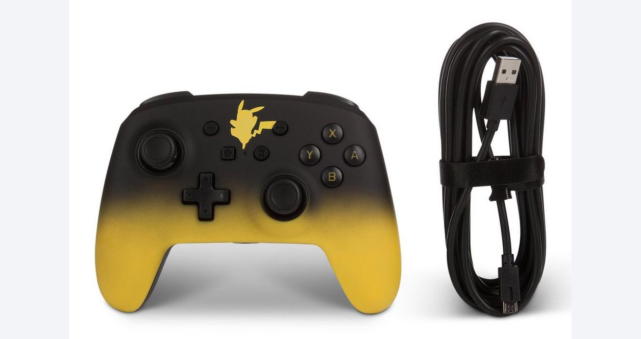 Nintendo Switch Pikachu Enhanced Wired Controller