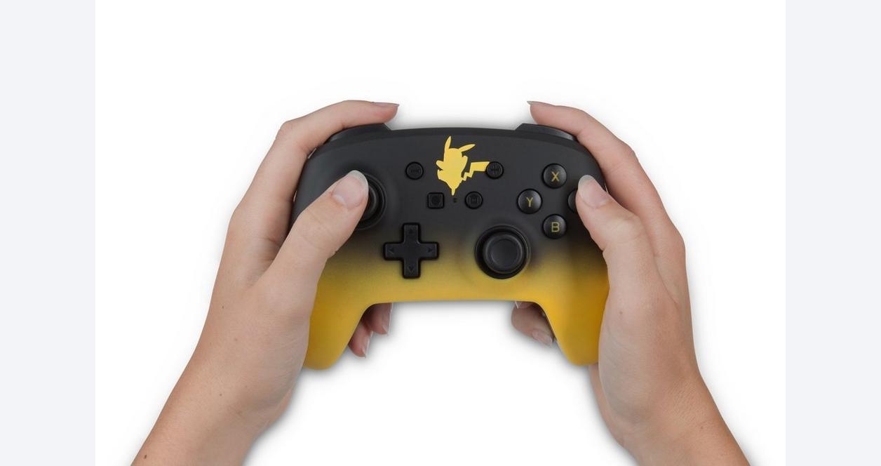 Nintendo Switch Enhanced Wired Controller Pikachu