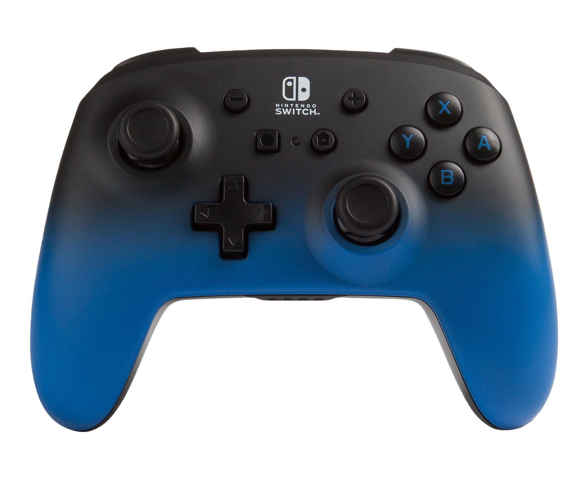 Blue Fade Enhanced Wireless Controller For Nintendo Switch Nintendo Switch Gamestop