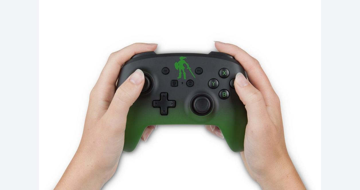 The Legend of Zelda Link Enhanced Wired Controller for Nintendo Switch
