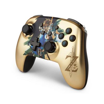 Nintendo Switch The Legend of Zelda Link Enhanced Wireless Controller Only at GameStop