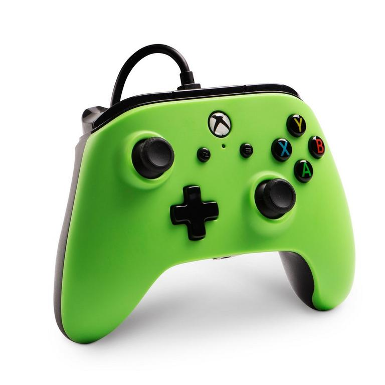 Green Enhanced Wired Controller for Xbox One