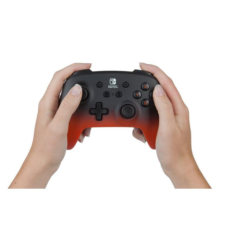 Nintendo Switch Orange Fade Enhanced Wireless Controller