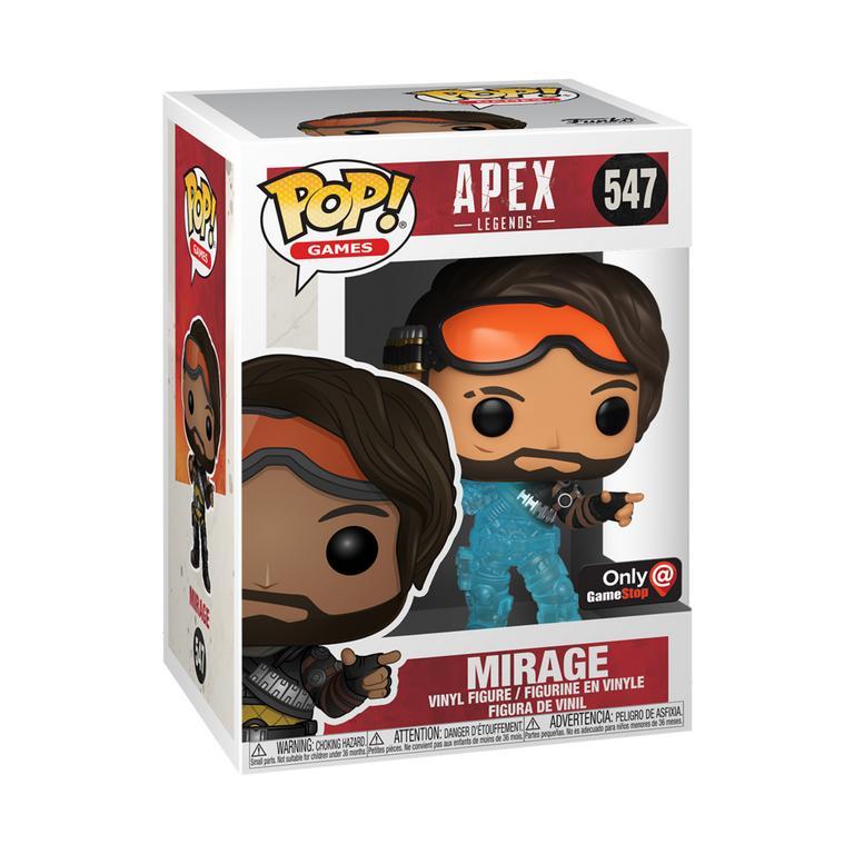 POP! Games: Apex Legends Mirage Only at GameStop