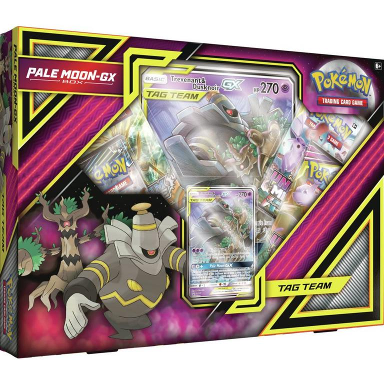Pokemon Trading Card Game: Pale Moon-GX Box