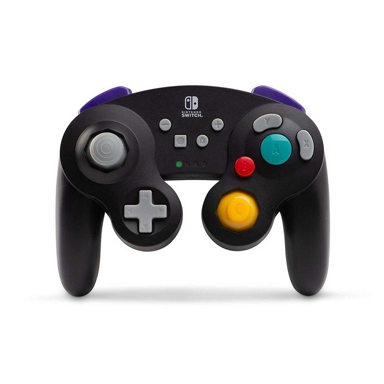 Black Wireless GameCube Controller for Nintendo Switch