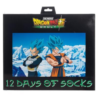Dragon Ball Super Broly 12 Days of Socks