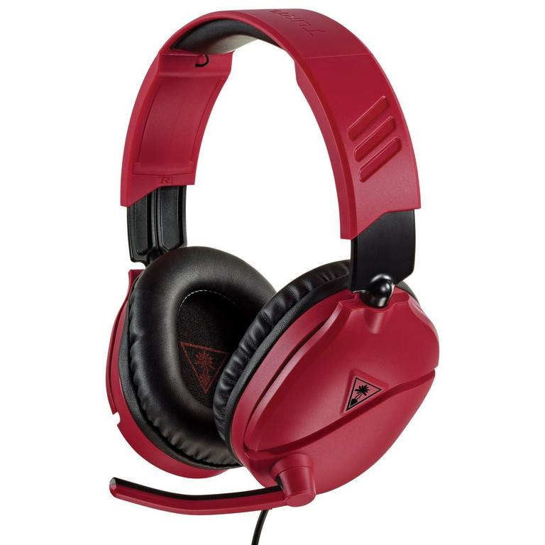 PlayStation 4 Recon 70 Red Wired Gaming Headset