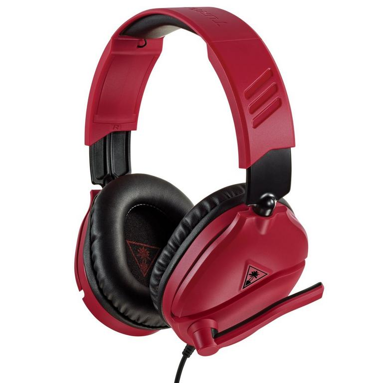 Recon 70 Red Wired Gaming Headset for PlayStation 4