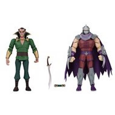 Ra's Al Ghul and Shredder Action Figure 2 Pack Summer Convention 2019 Only at GameStop
