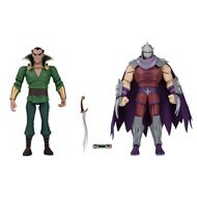 Ra S Al Ghul And Shredder Action Figure 2 Pack Summer