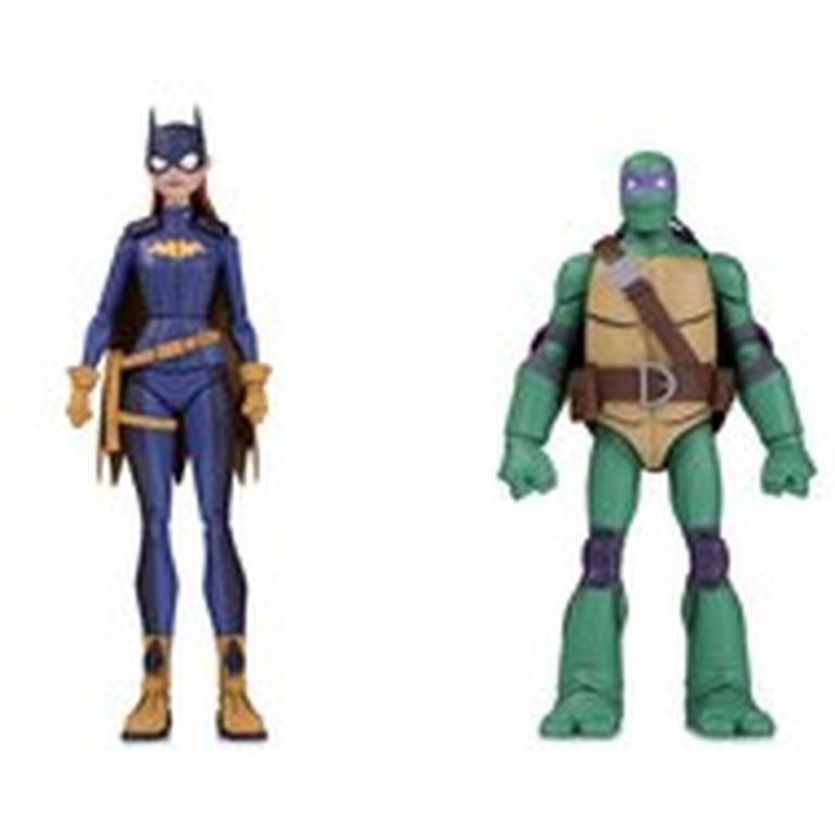 Batgirl and Donatello Action Figure 2 Pack Summer Convention 2019 Only at GameStop