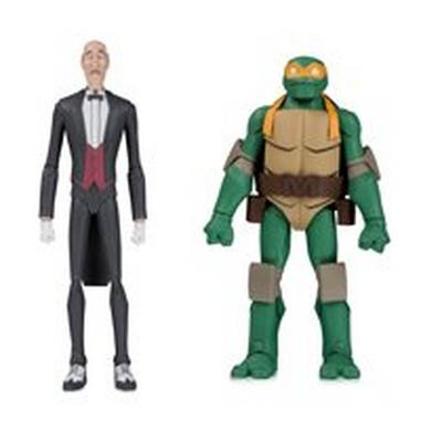 Alfred and Michelangelo Action Figure 2 Pack Summer Convention 2019 Only at GameStop