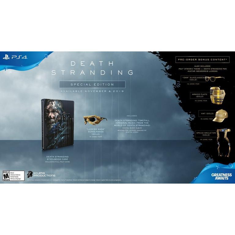 Death Stranding | PlayStation 4 | GameStop